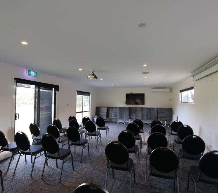 The conference room offers a large space and is versatile for all events and needs.