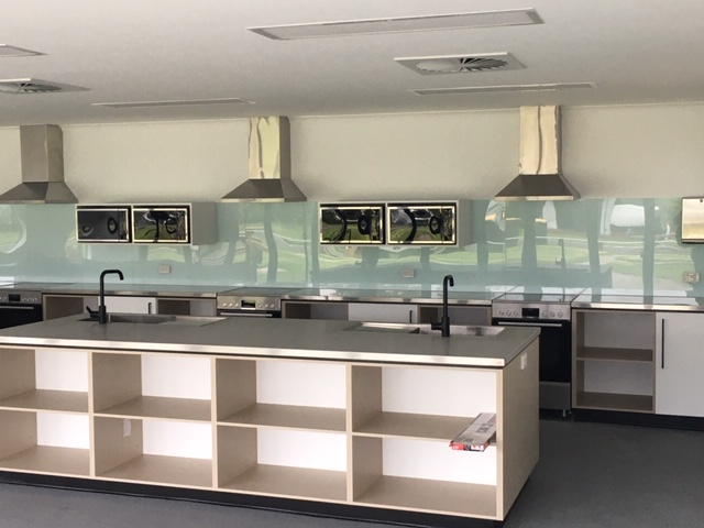 Brand new camp kitchen.